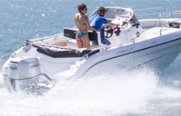 Ranieri Open Line Voyager 21S /150 HP – 8 adults